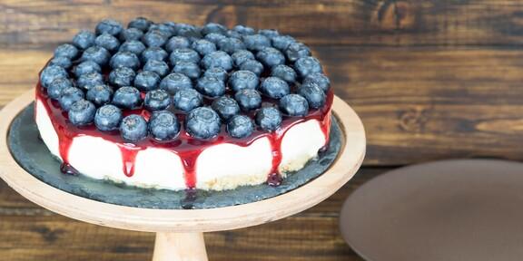 Cheesecake cu afine